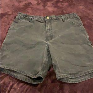 Other - Carhartt black denim shorts, 38